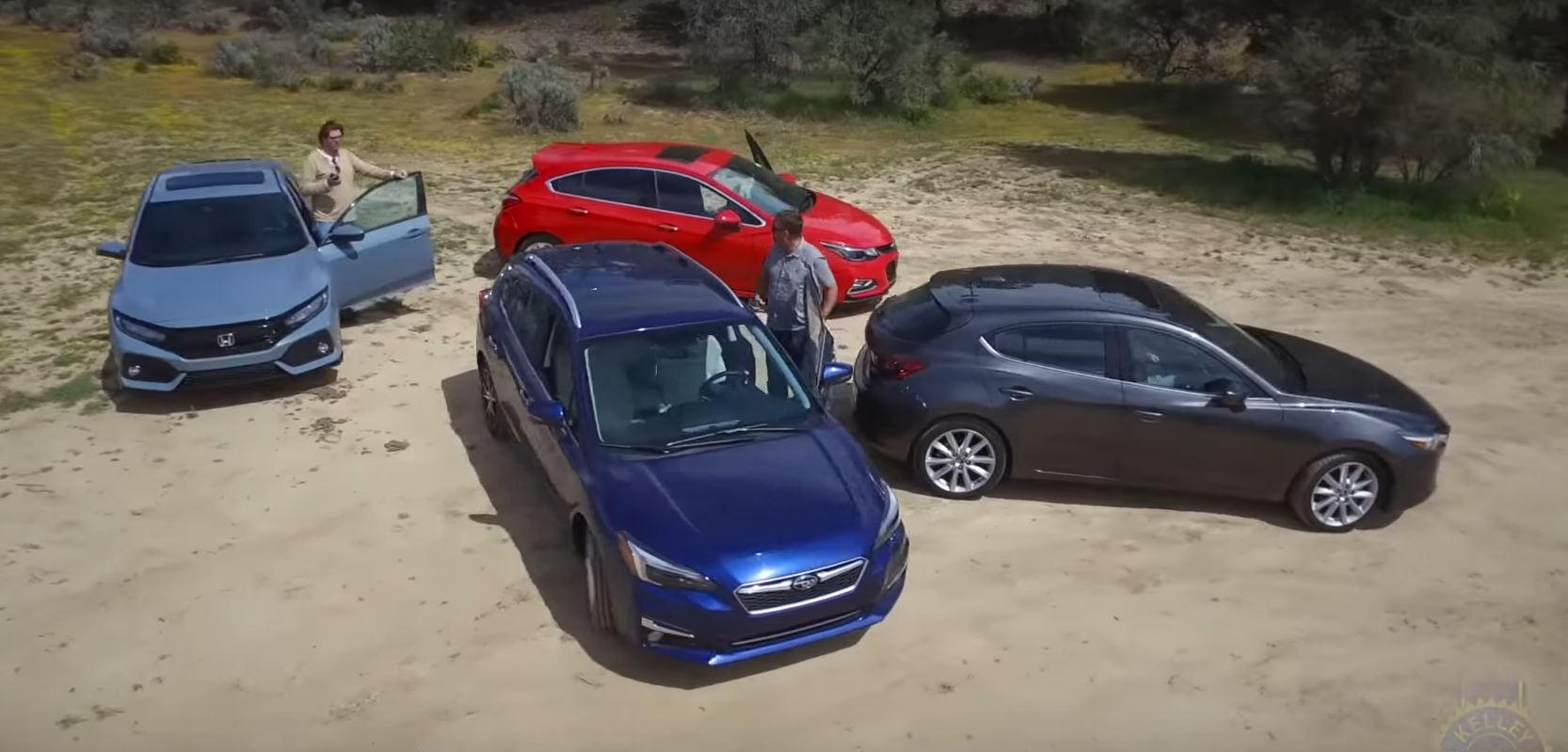2017 Best Hatchback Comparison Suggests Civic And Impreza Are The
