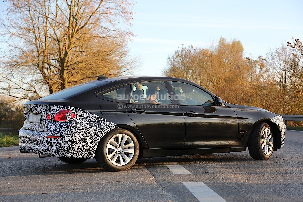 2017 bmw 3 series gt spied without m sport package. Black Bedroom Furniture Sets. Home Design Ideas