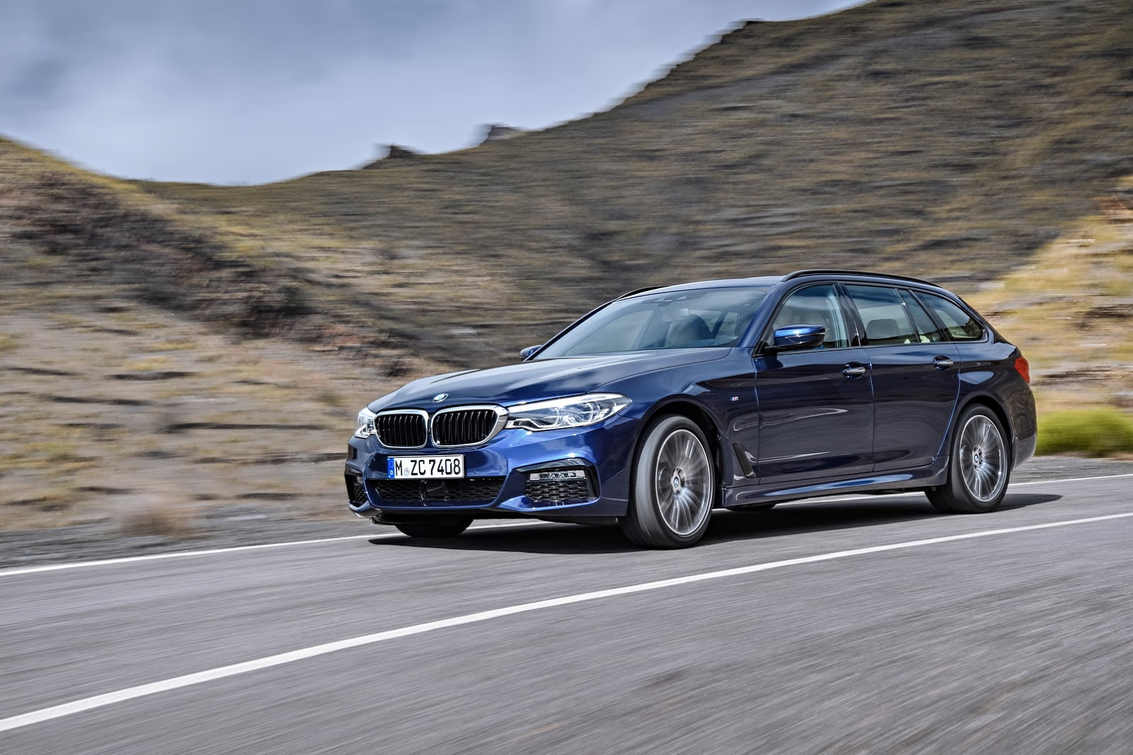 2017 Bmw 5 Series Touring G31 Launch Films Are About