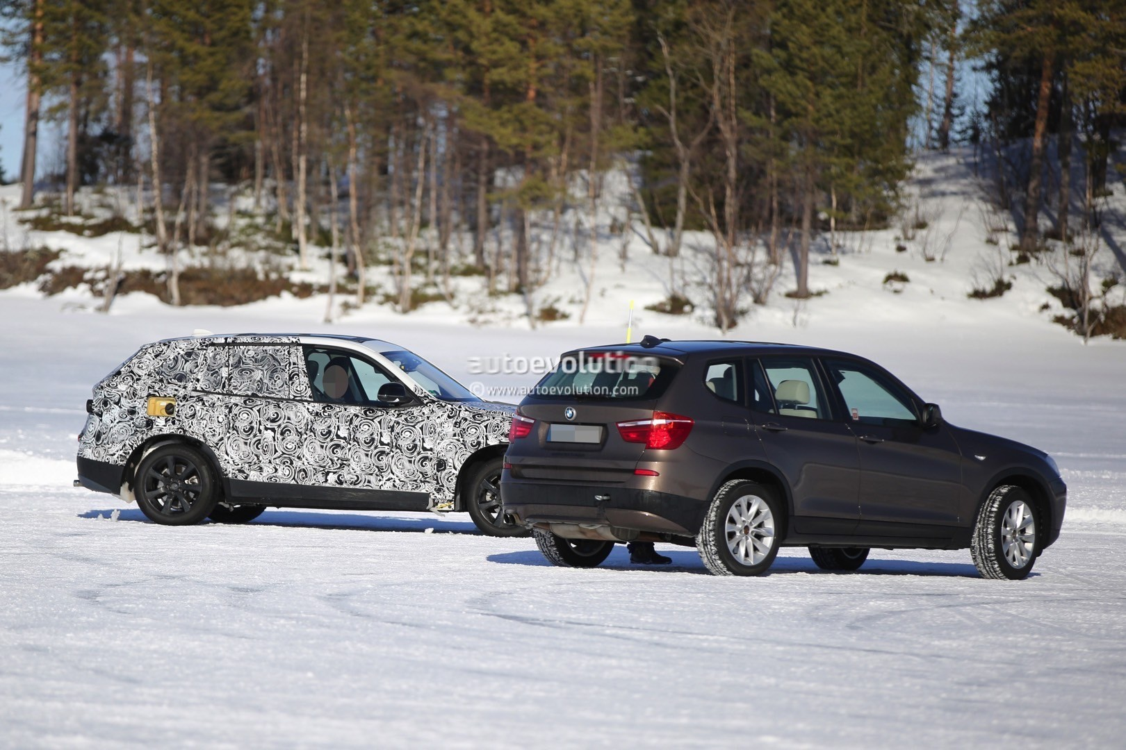 2017 bmw g01 x3 prototype already spied testing. Black Bedroom Furniture Sets. Home Design Ideas