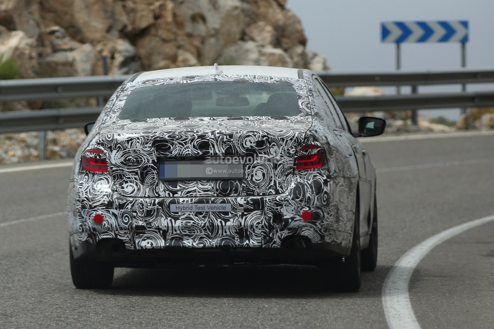 2017 BMW G30 5 Series Spied Closer, Prototype Interior Hints