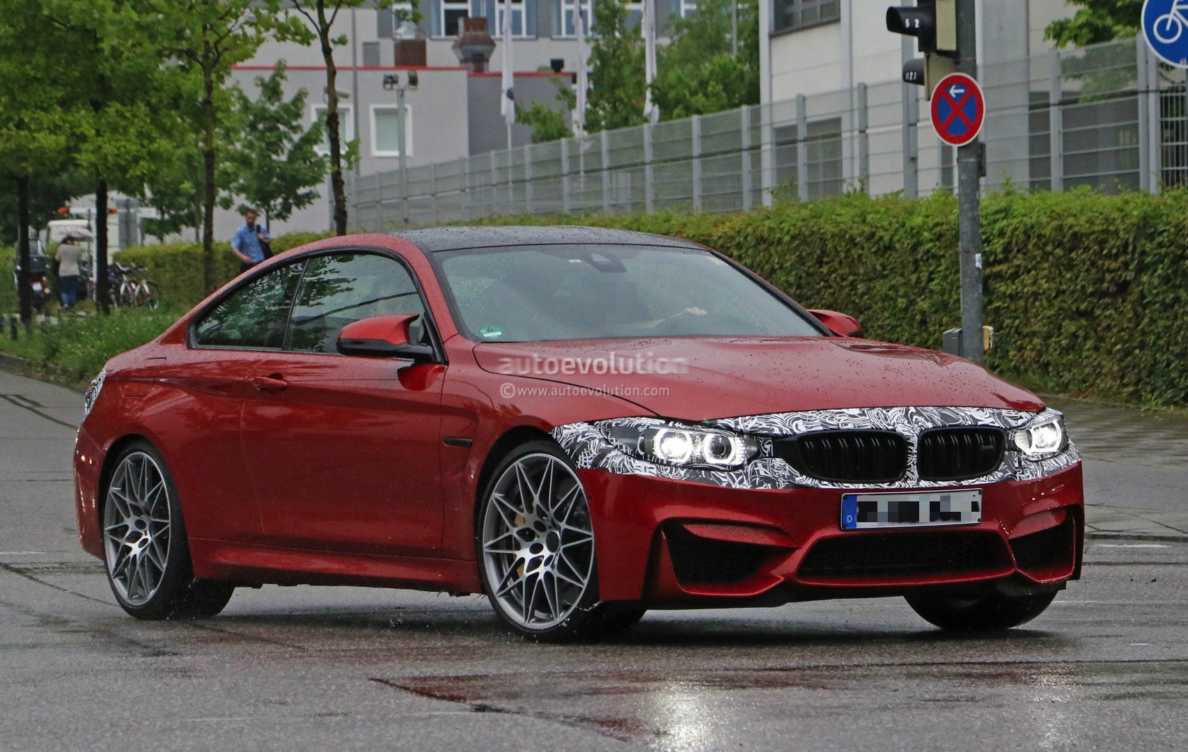2017 bmw m4 facelift might get more power than the m3 - autoevolution