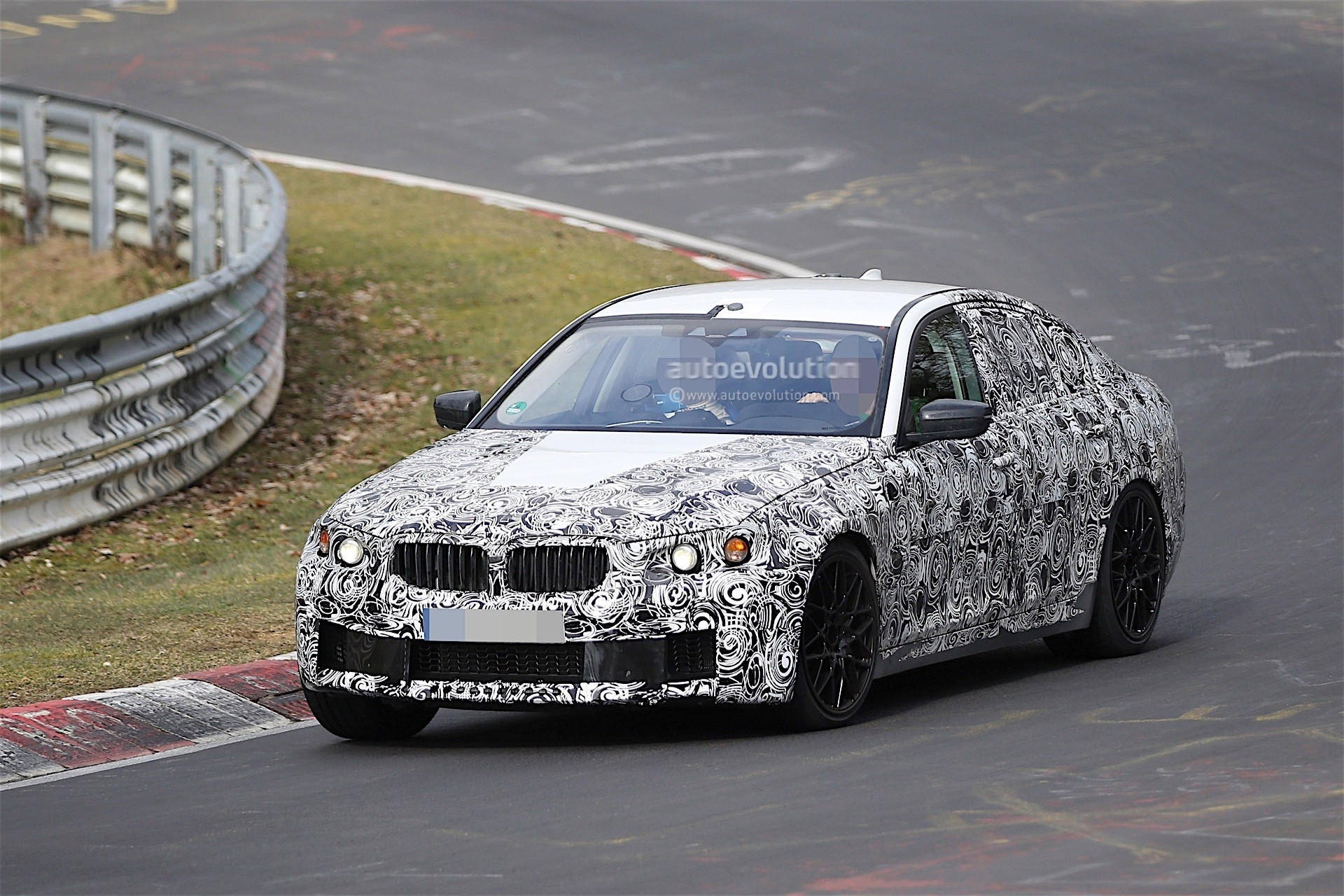 2017 Bmw M5 Prototype Still Testing On The Nurburgring