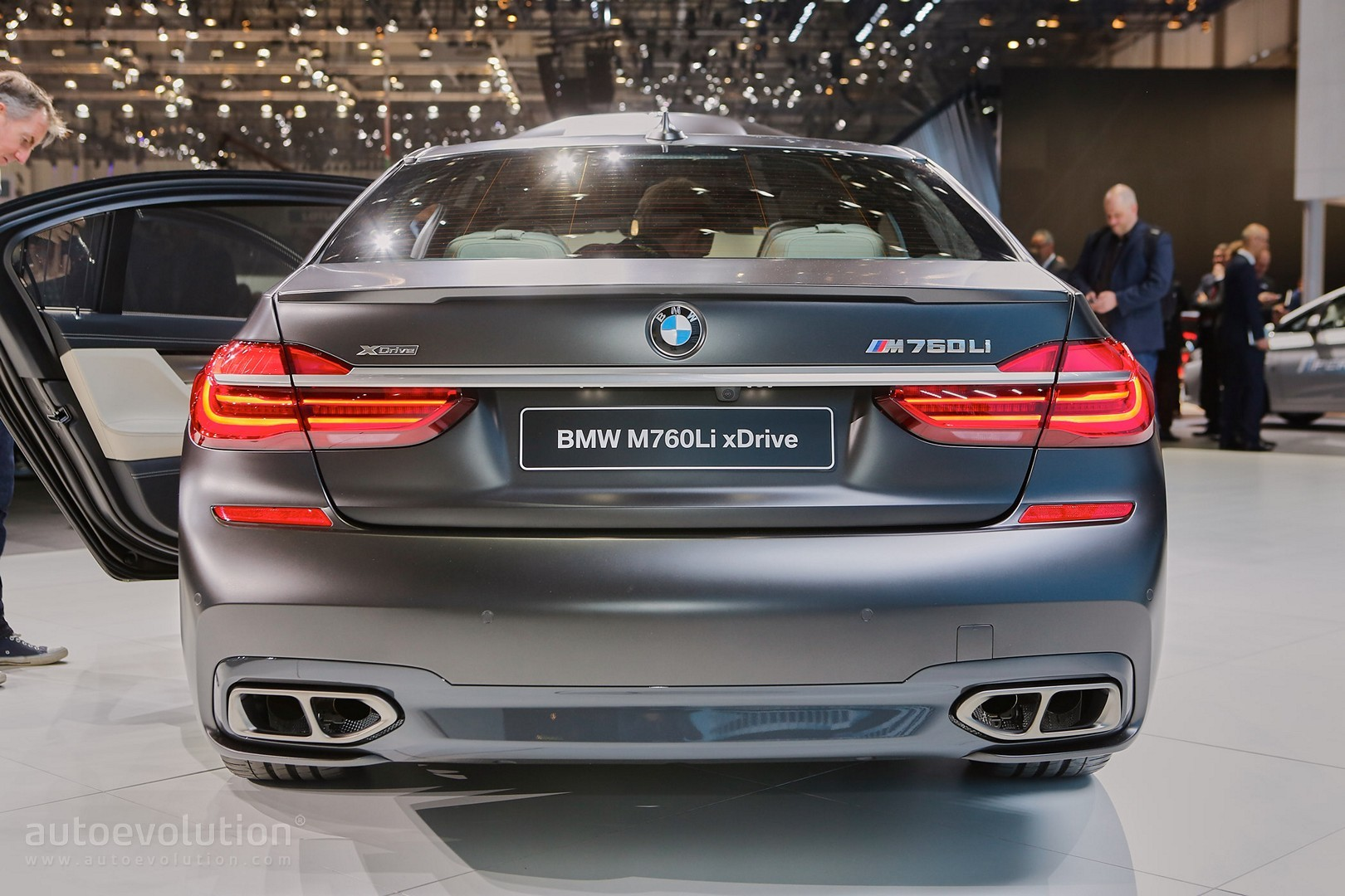 2017 Bmw M760li Xdrive Gets 10 Extra Hp As It Chases The