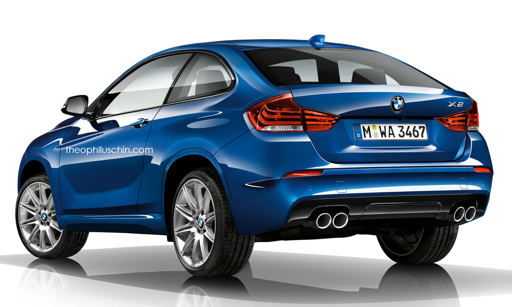 2017 Bmw X2 Finally Rendered Looks Compact Autoevolution