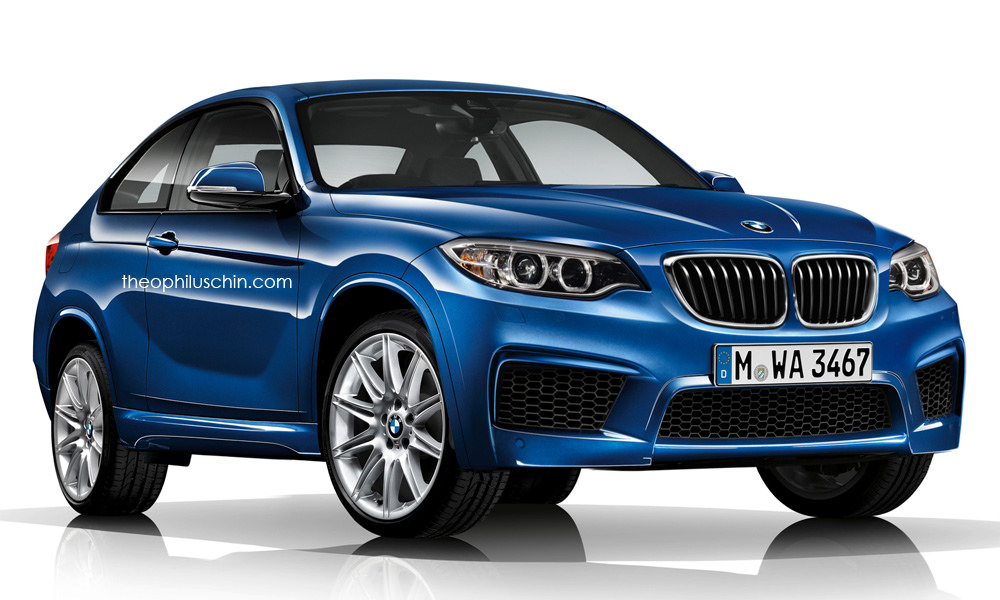 2017 bmw x2 finally rendered looks compact autoevolution. Black Bedroom Furniture Sets. Home Design Ideas