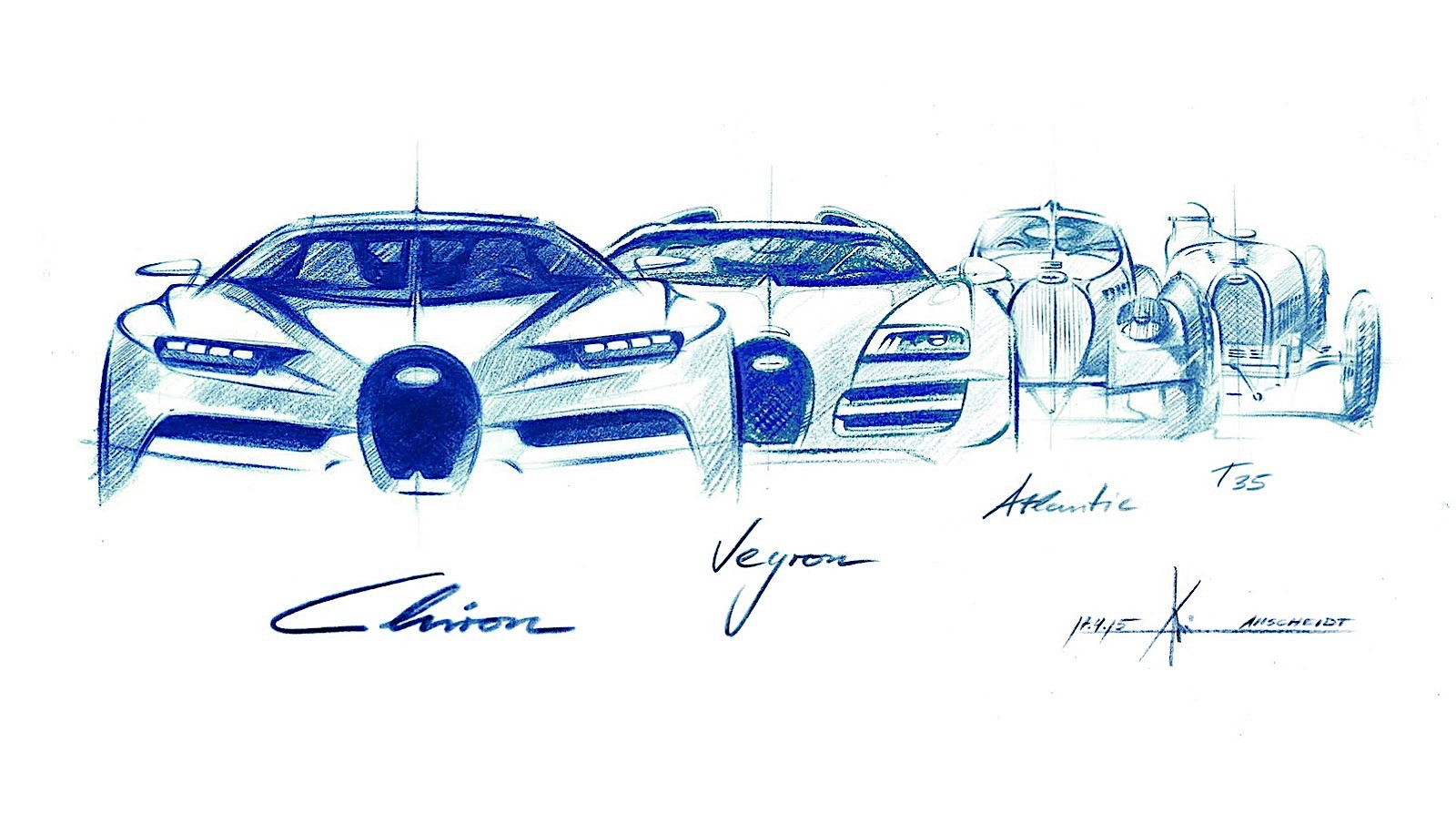 2017 Bugatti Chiron Lets Its Quad Turbocharged W16 Loose Autoevolution Veyron Engine Diagram