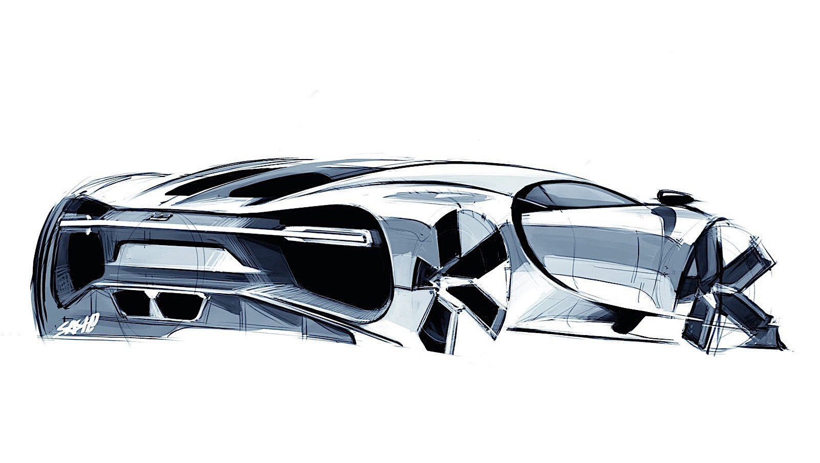 2017 Bugatti Chiron Lets Its Quad Turbocharged W16 Loose Autoevolution