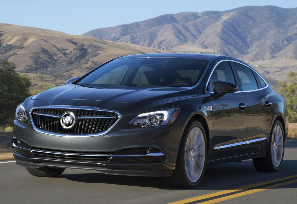 2017 buick lacrosse priced from 32 990 autoevolution. Black Bedroom Furniture Sets. Home Design Ideas
