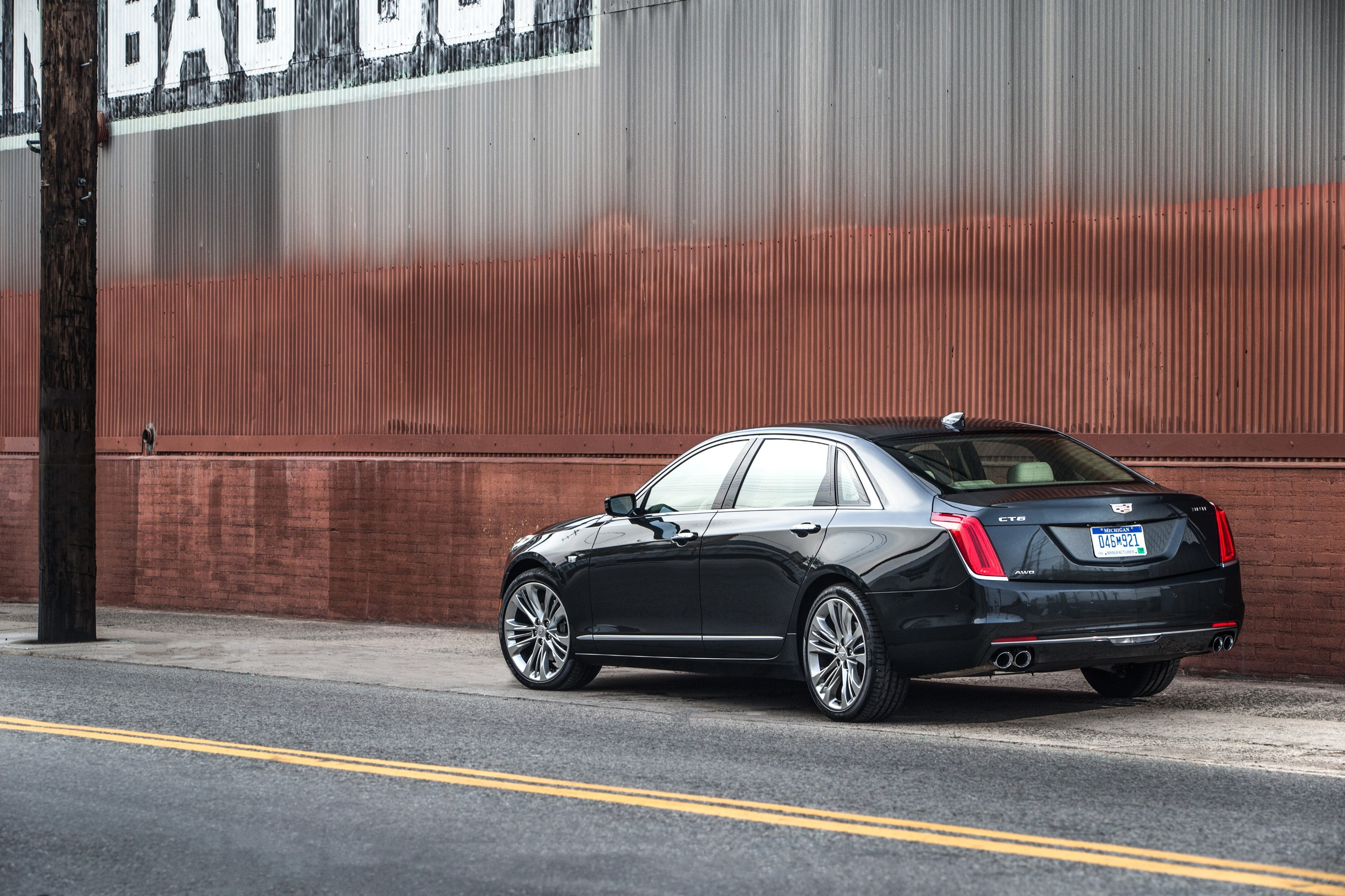 Cadillac CT6 Updated For 2017 MY, Twin-Turbo LT5 V8
