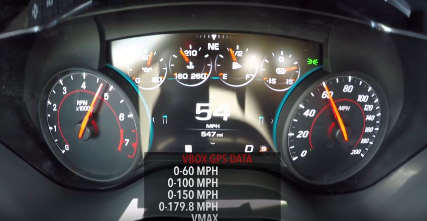 2017 Camaro ZL1 10-Speed Auto 0-180 MPH Real-World Acceleration Test ...