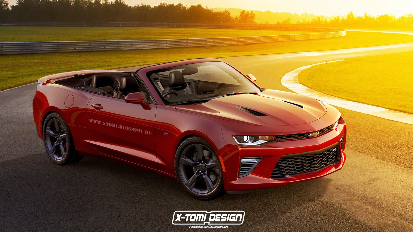 2017 chevrolet camaro convertible speculatively rendered autoevolution. Black Bedroom Furniture Sets. Home Design Ideas