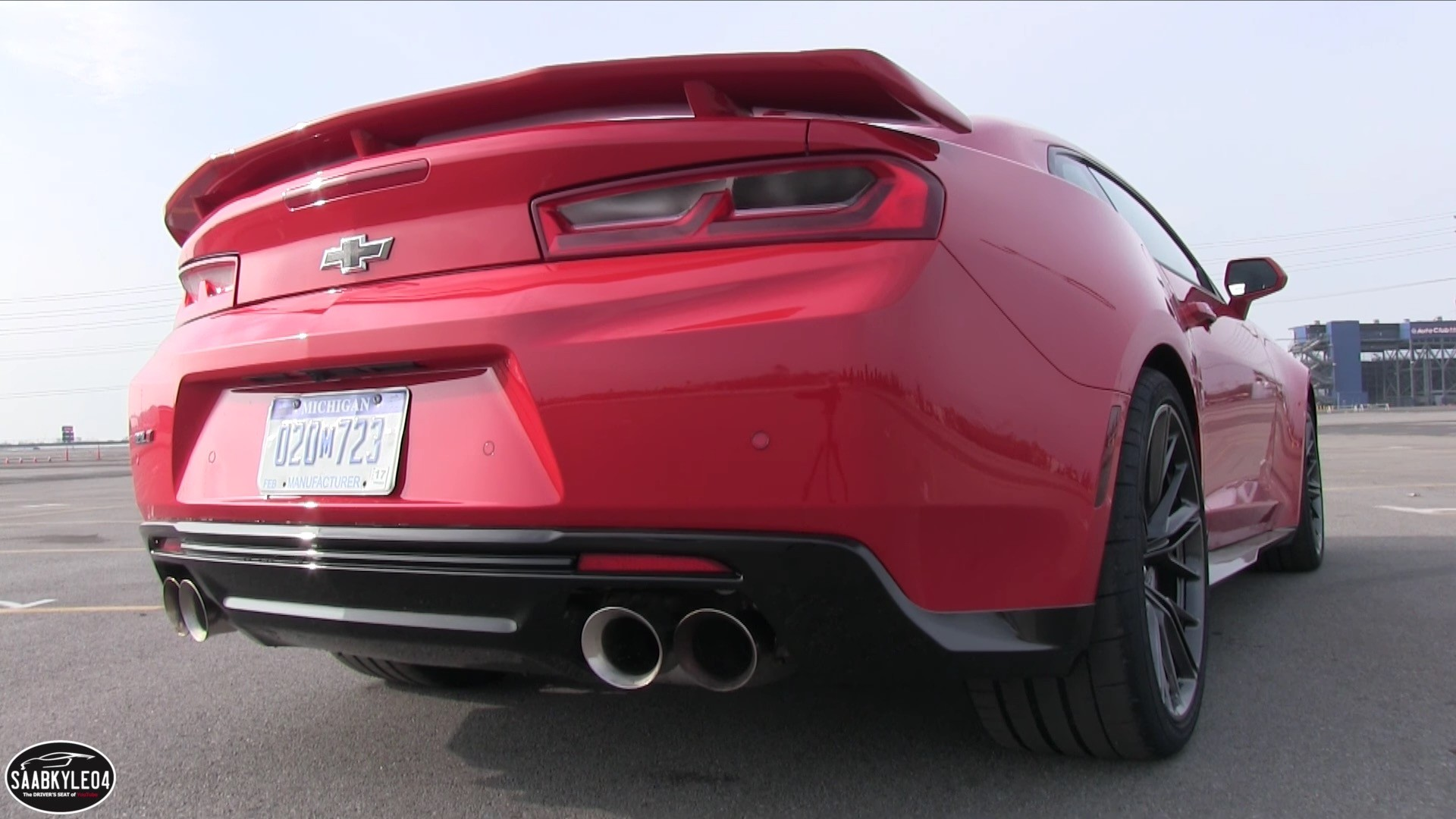2017 Chevrolet Camaro ZL1 Dual-Mode Exhaust Demo: From ...