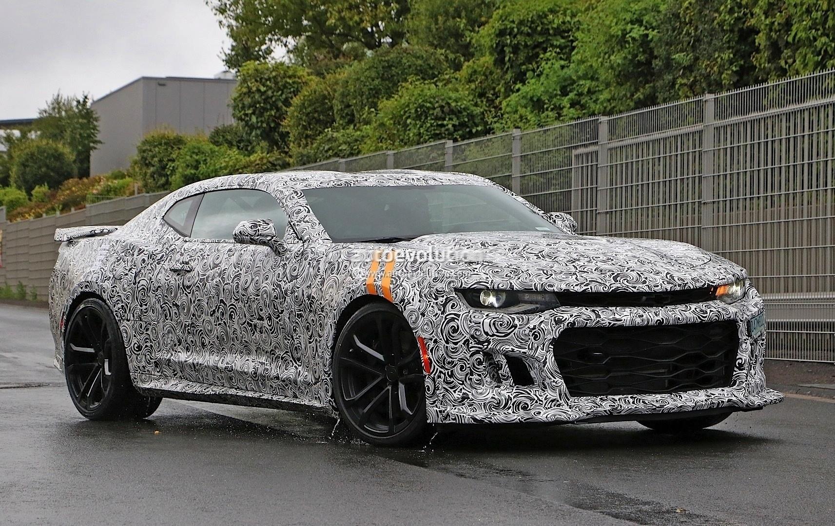 2017 Chevrolet Camaro Zl1 Spied Expect An 11s Quarter