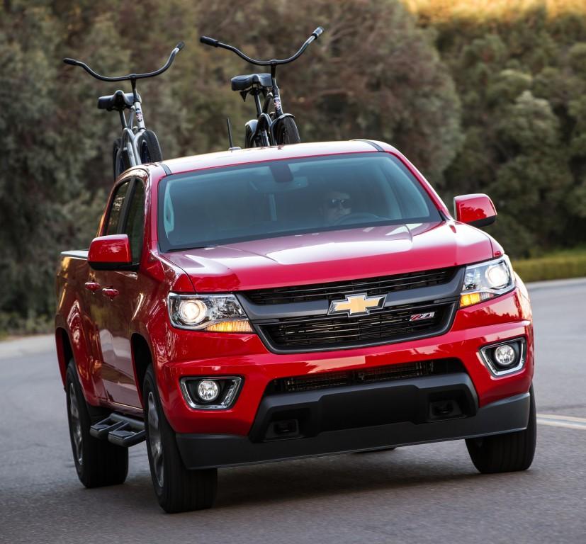 2017 Chevrolet Colorado Gets New V6 Engine, 8-Speed