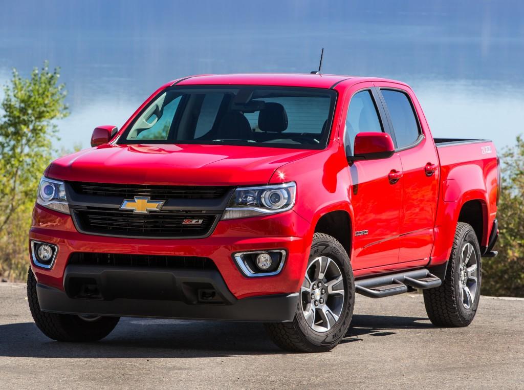 2017 Chevrolet Colorado Gets New V6 Engine 8 Speed