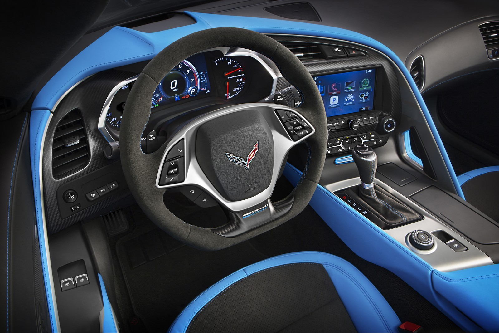 2017 Chevrolet Corvette Grand Sport Delivers Corvette Zr1 Like Lap Times Autoevolution
