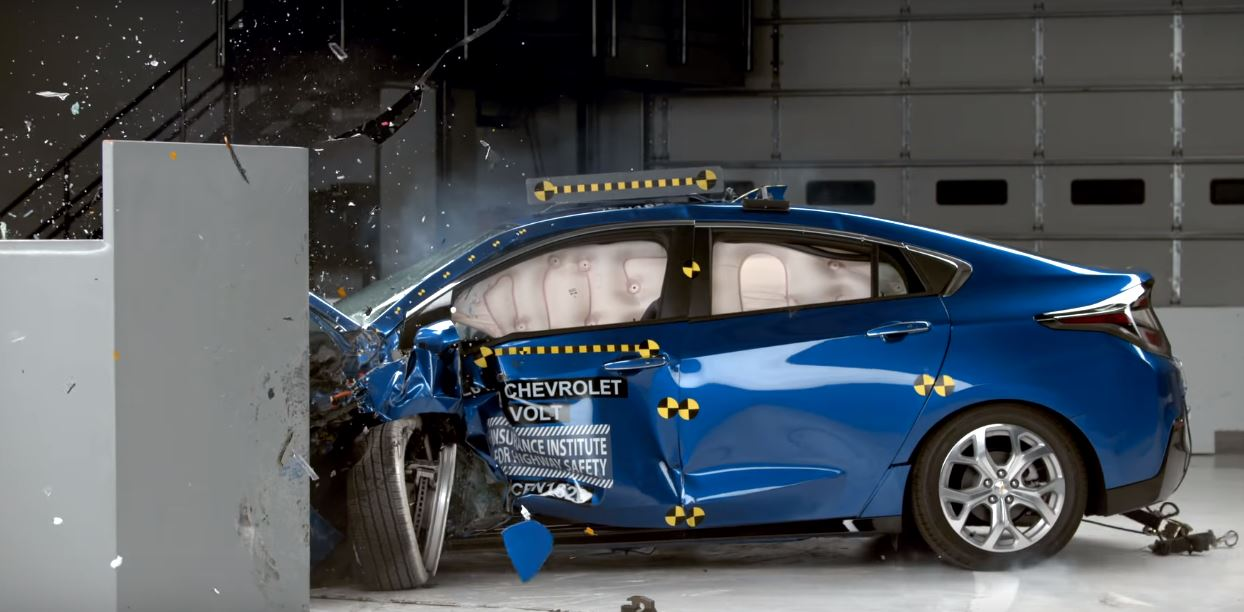 2017 Chevrolet Volt Iihs Crash Test