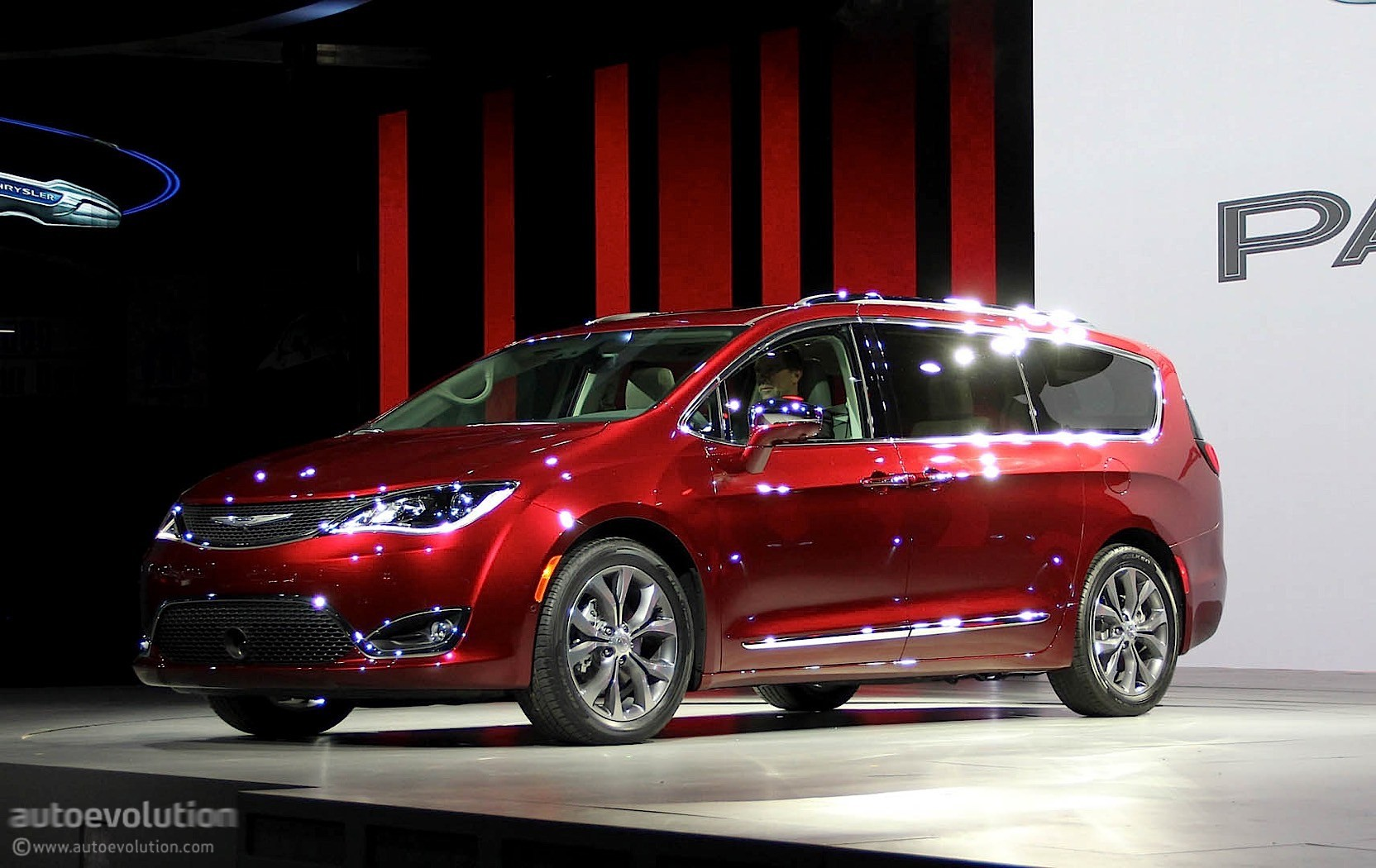 2017 Chrysler Pacifica Is En Route To A Dealership Near