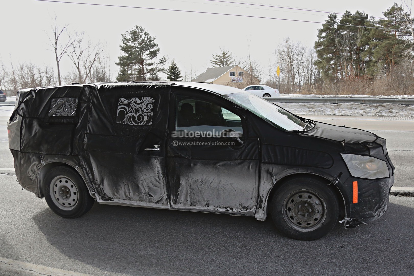 2017 Chrysler Town & Country Spied Inside and Out ...