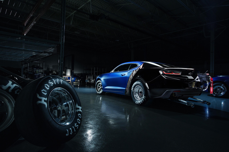 2017 Copo Camaro Revealed Alongside Camaro Ss Drag Racing