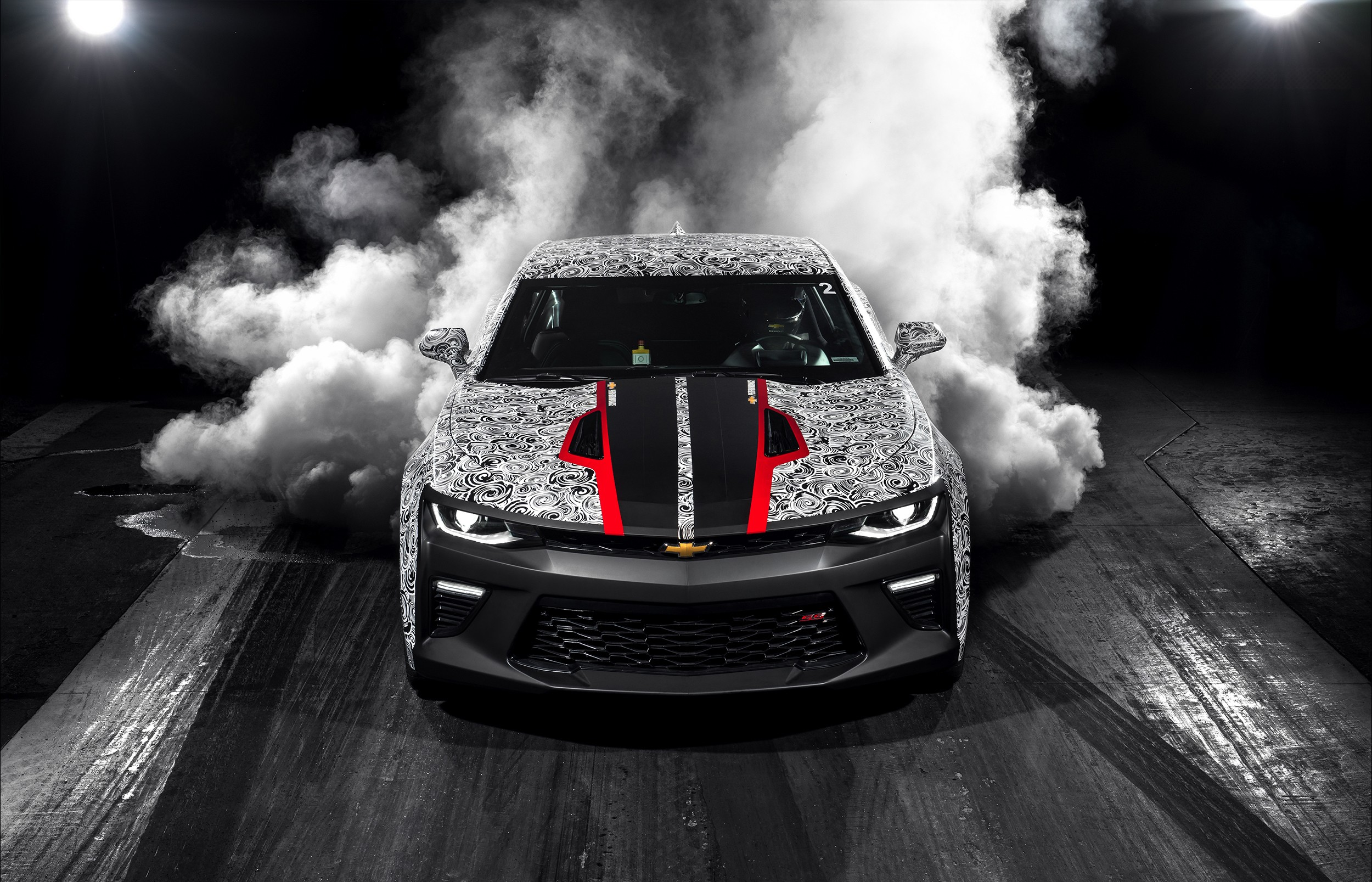 2017 Copo Camaro Revealed Alongside Camaro Ss Drag Racing