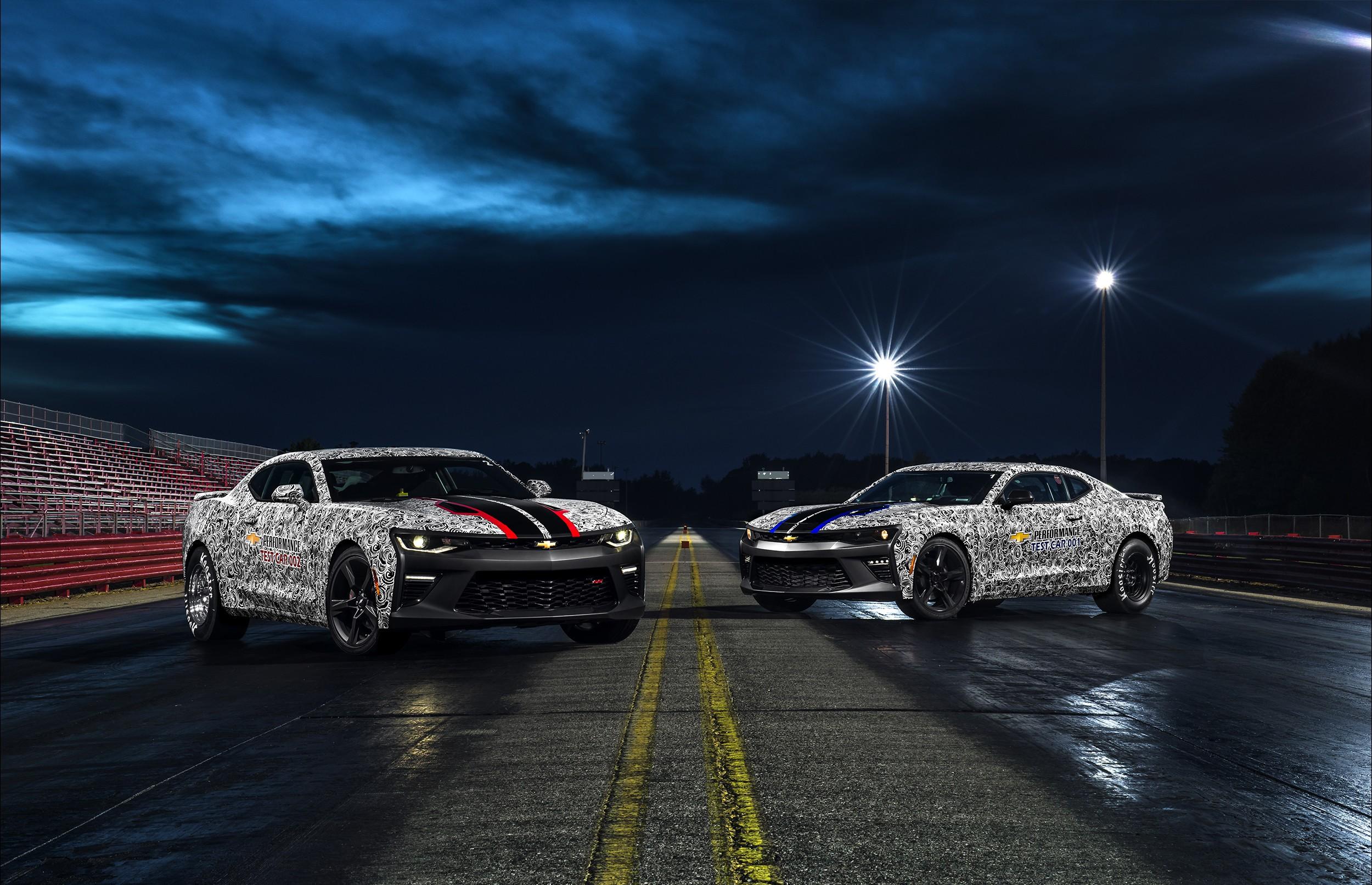 2017 Copo Camaro Revealed Alongside Camaro Ss Drag Racing Prototypes Autoevolution
