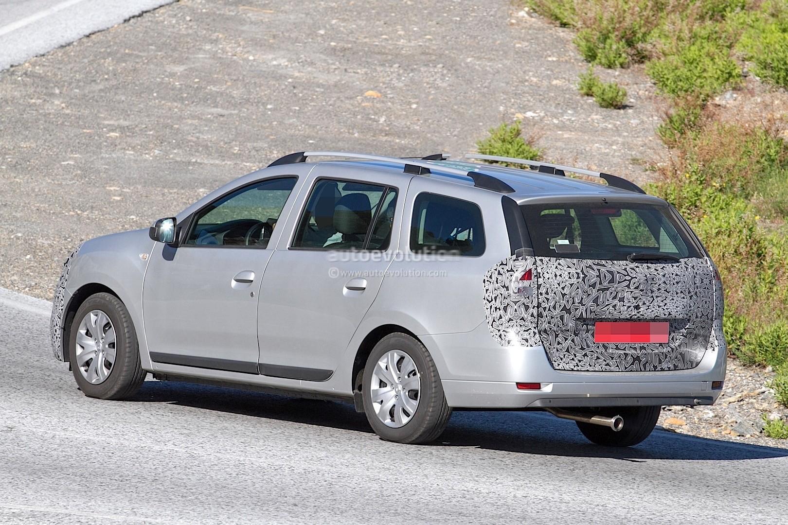 Challenger 2017 >> 2017 Dacia Sandero Facelift & 2017 Dacia Logan MCV Facelift Spied - autoevolution