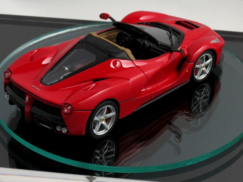 2017 Ferrari Laferrari Spider Teased By 1 43 Scale Model