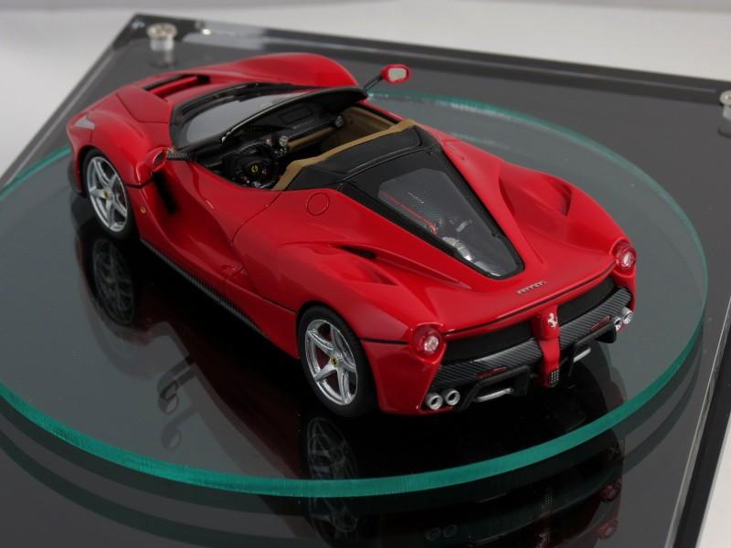 2017 Ferrari LaFerrari Spider Teased by 1/43 Scale Model ...