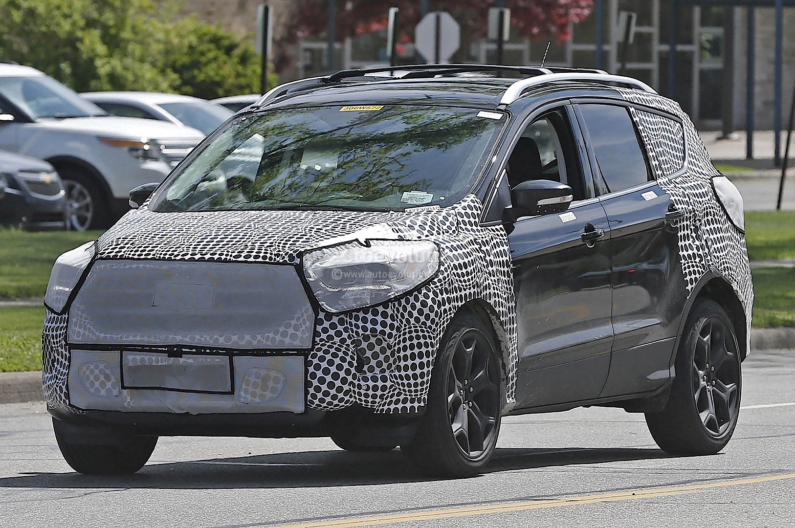 2017 ford escape 2016 ford kuga spied borrows 2015 ford. Black Bedroom Furniture Sets. Home Design Ideas