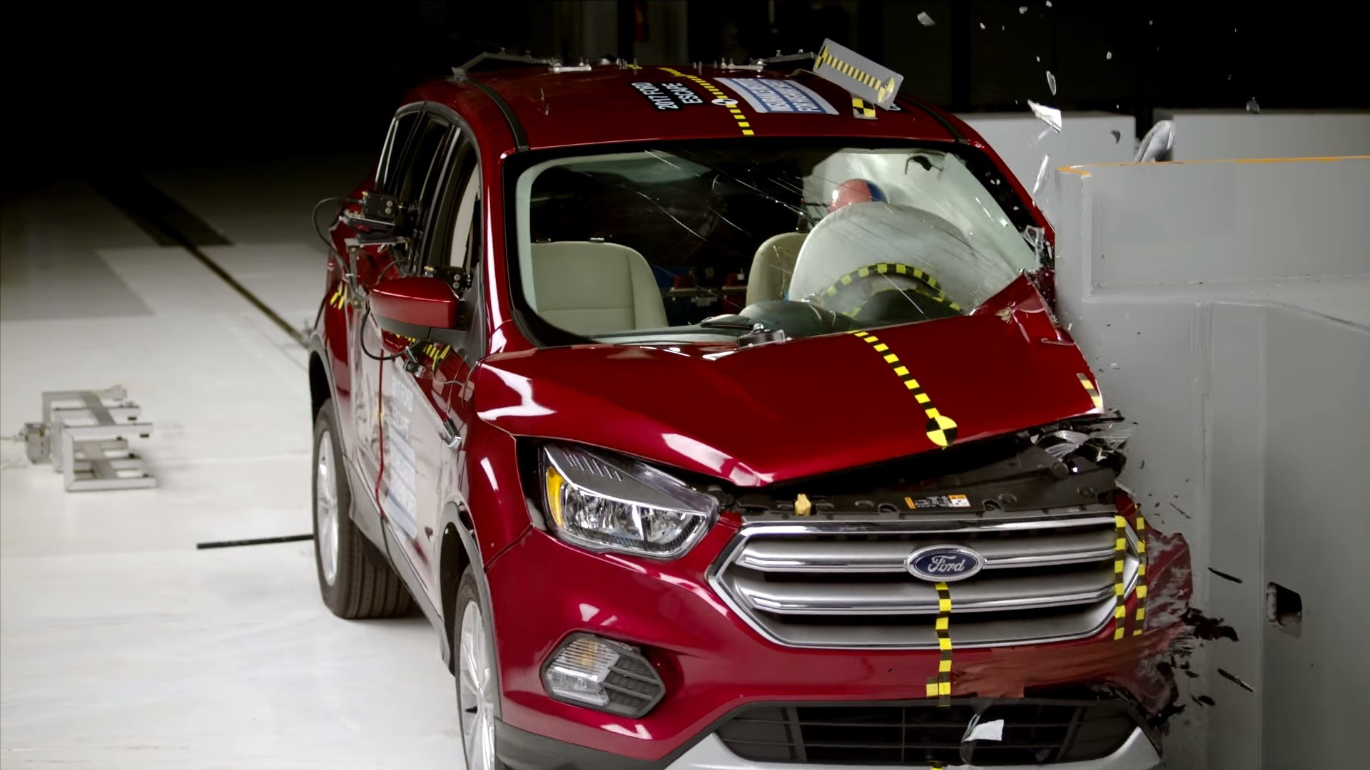 ford escape rated acceptable  small overlap front