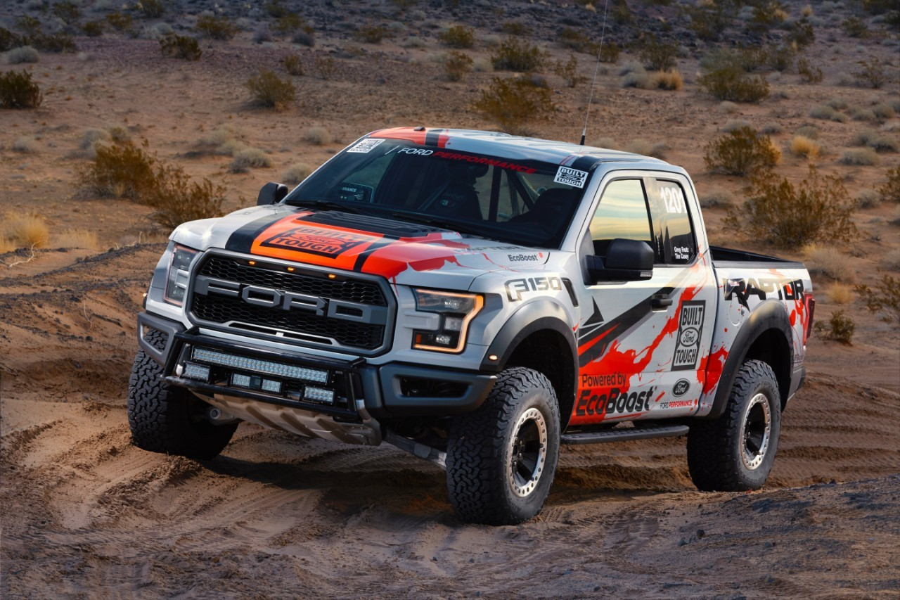 2017 Ford F-150 Raptor Enters Best in the Desert Off-Road ...