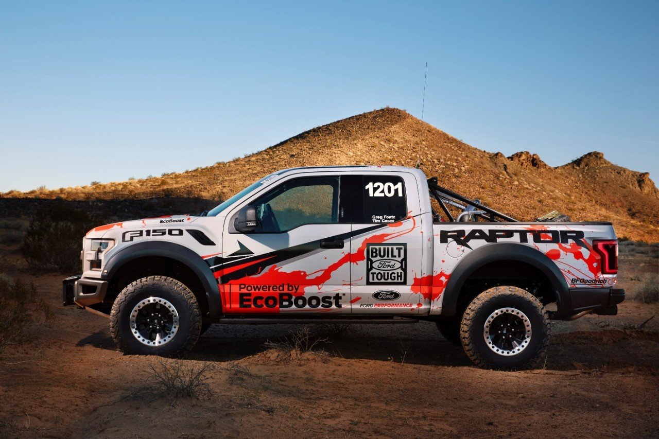 2017 ford f 150 raptor enters best in the desert off road racing series autoevolution