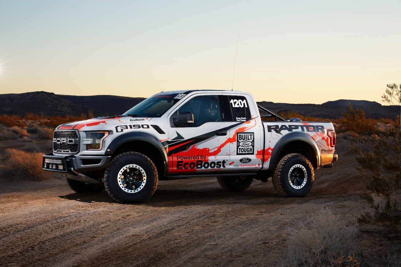 2017 Ford F-150 Raptor Enters Best in the Desert Off-Road Racing Series - autoevolution
