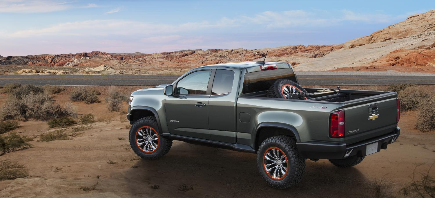Chevrolet Colorado ZR2 Concept Pickup Truck With The 28 Duramax Diesel Engine