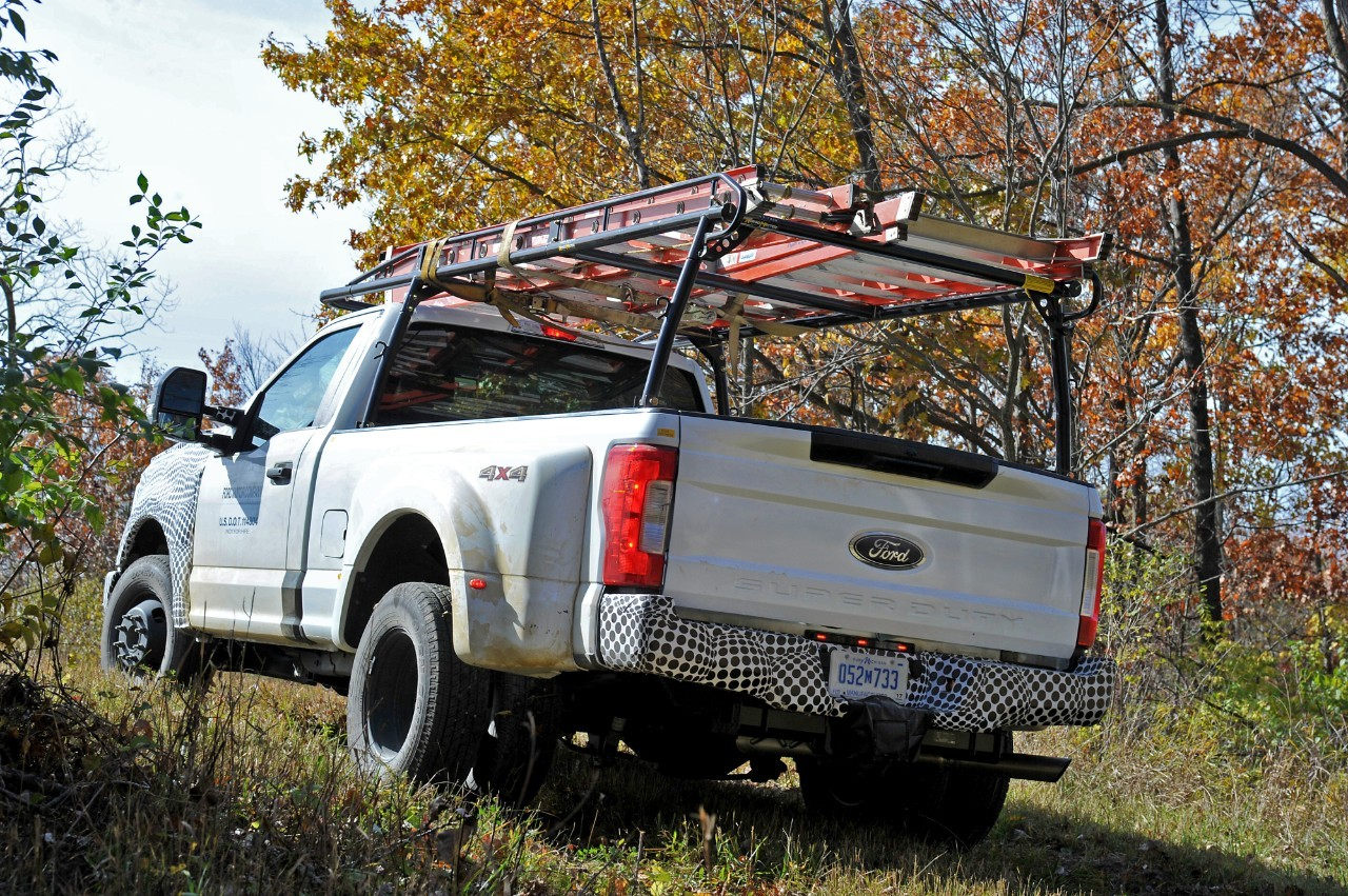 2017 ford f series super duty tested in michigan it s. Black Bedroom Furniture Sets. Home Design Ideas