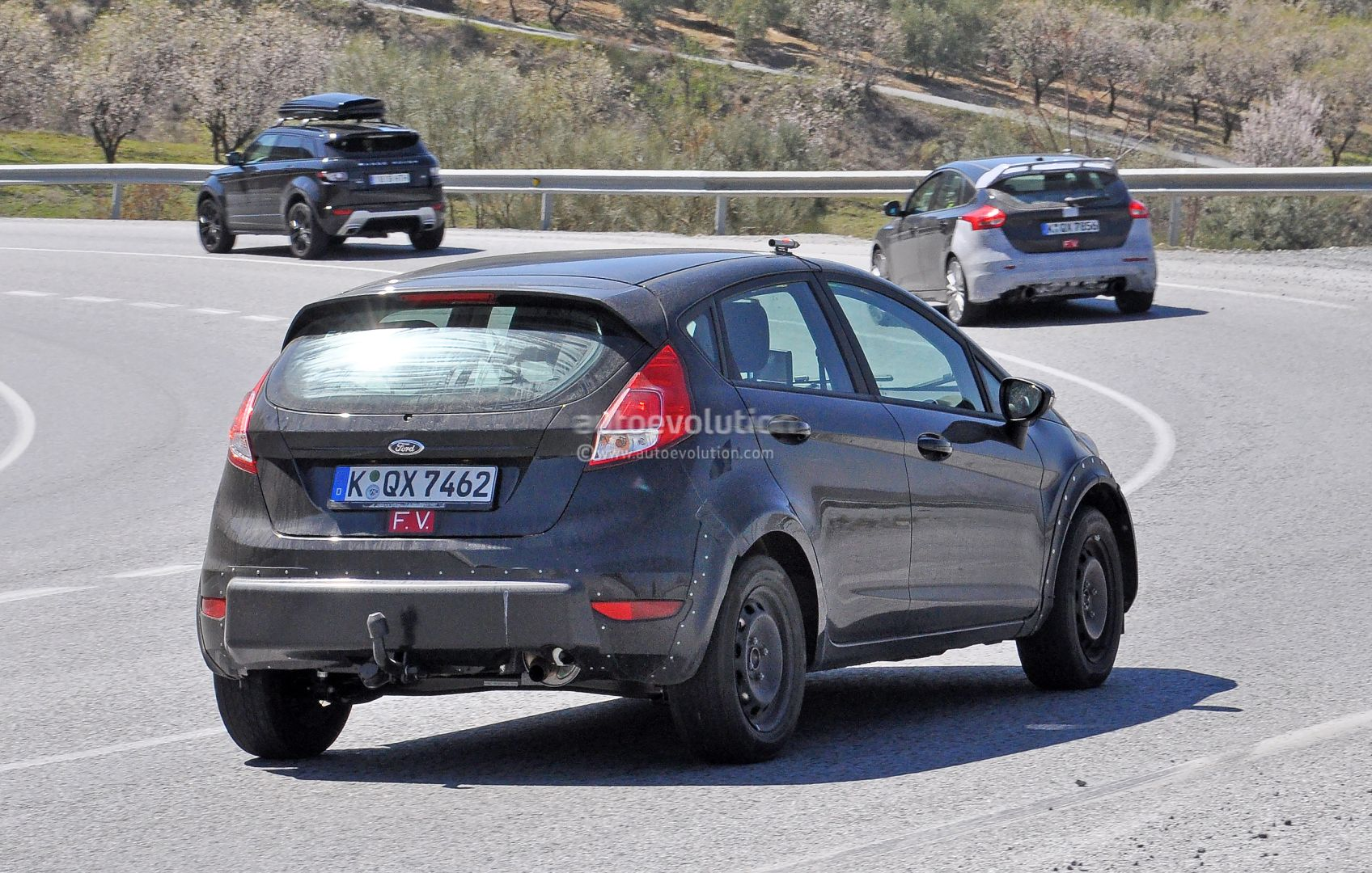 2017 ford fiesta rs spied for the first time autoevolution. Black Bedroom Furniture Sets. Home Design Ideas