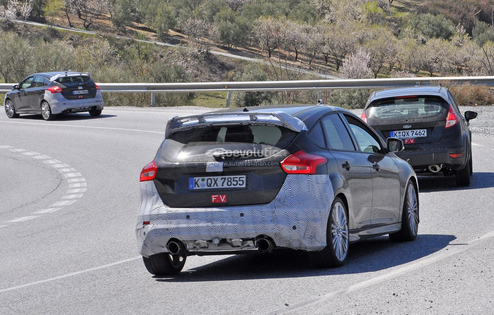 2020 Ford Fiesta RS Spied for the First Time - autoevolution
