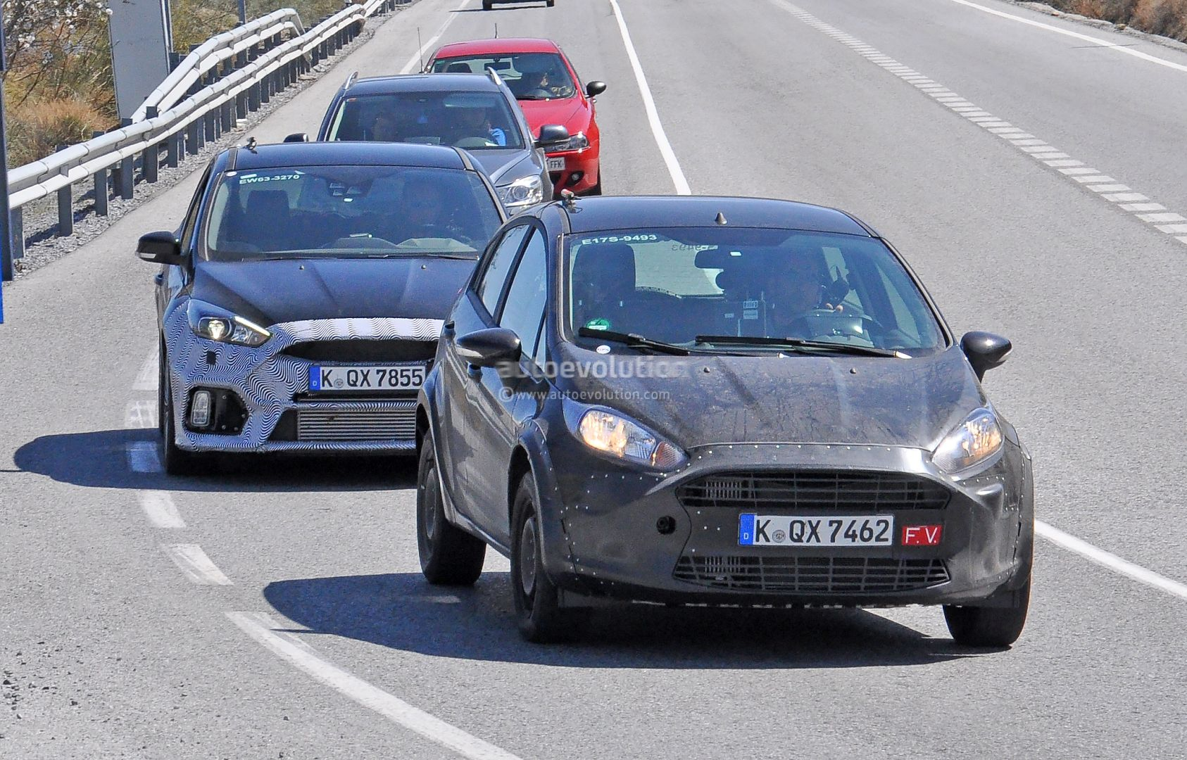 2017 Ford Fiesta RS Spied for the First Time - autoevolution