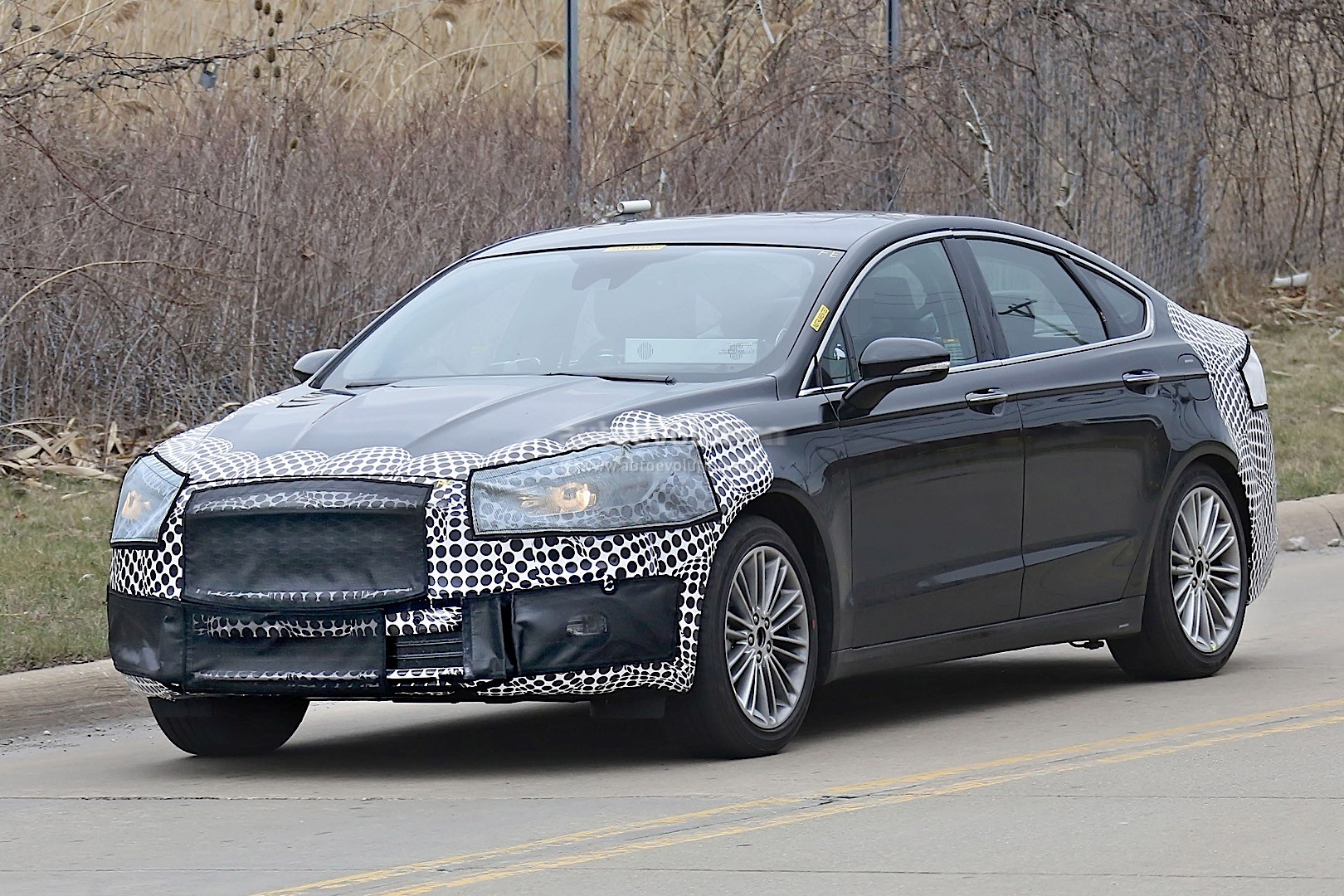 2020 Ford Fusion (Mondeo Facelift) Spied - autoevolution