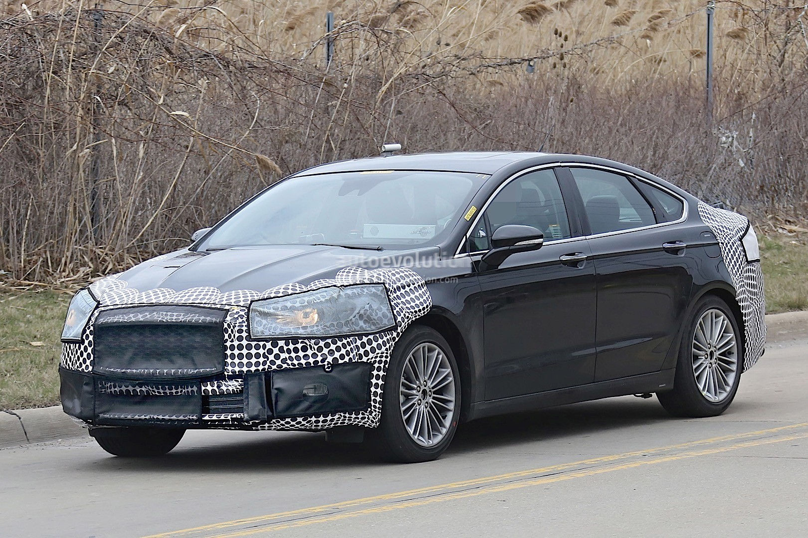 New Ford Gt >> 2017 Ford Fusion (Mondeo Facelift) Spied - autoevolution