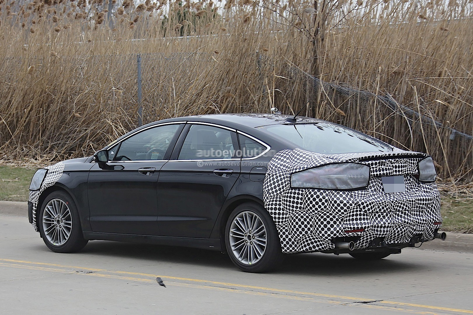 2016 Mustang Mach 1 >> 2017 Ford Fusion (Mondeo Facelift) Spied - autoevolution