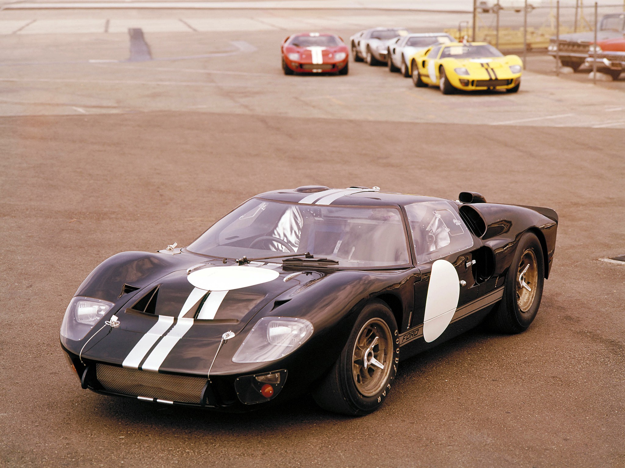 Ford Gt That Won The  Hours Of Le Mans