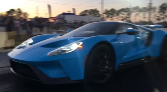 2017 Ford GT Does 10s 1/4-Mile Run with Heffner Exhaust, Sounds like ...