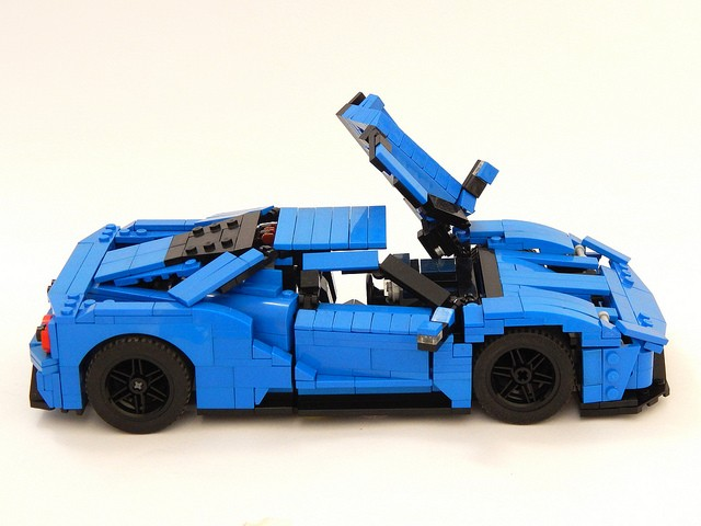 2017 Ford Gt Lego Car Is Not Just For Children Autoevolution