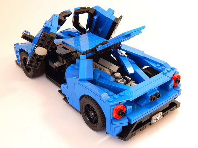 2017 ford gt lego car is not just for children autoevolution. Black Bedroom Furniture Sets. Home Design Ideas