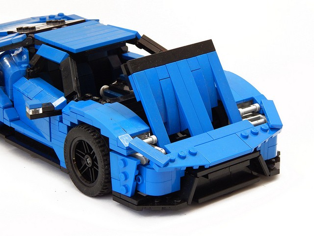 Build A Dodge >> 2017 Ford GT LEGO Car Is Not Just for Children - autoevolution