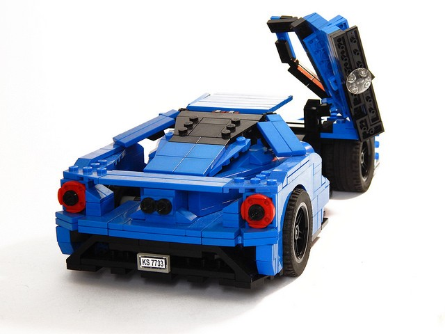 2017 Ford Gt Lego Car