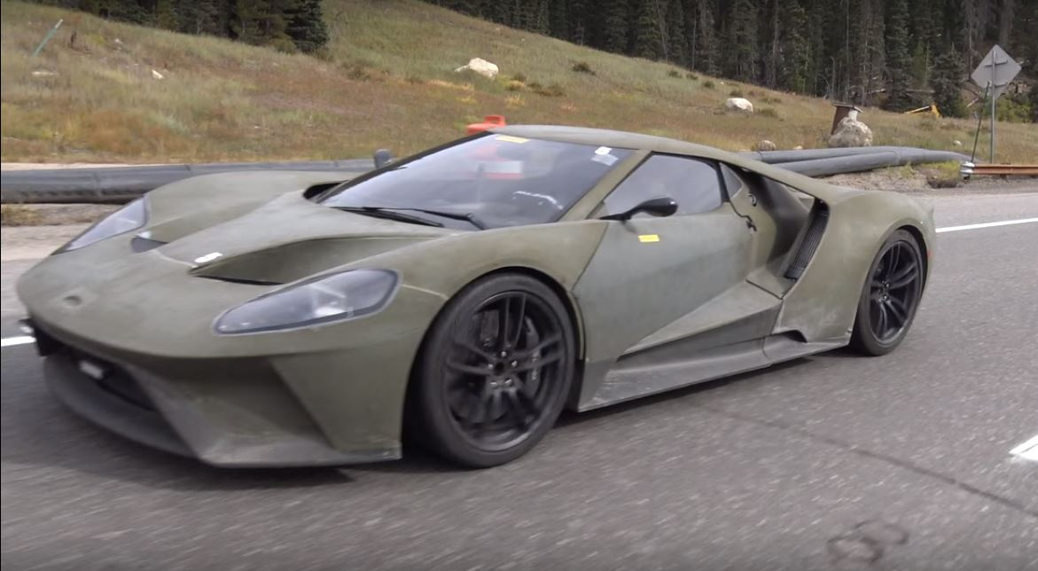 Ford Gt Spotted Casually Driving In Colorado Traffic